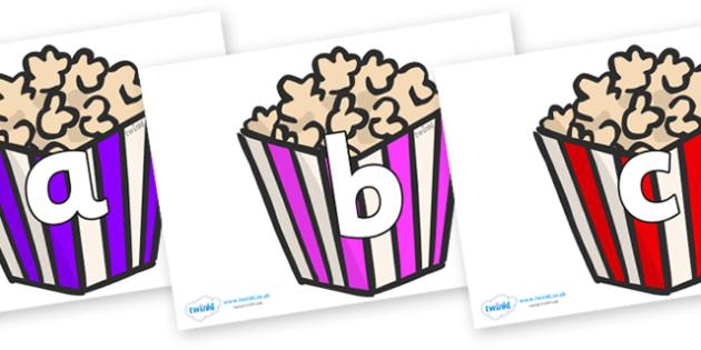 Phoneme Set on Popcorn - Phoneme set, phonemes, phoneme, Letters and Sounds, DfES, display, Phase 1, Phase 2, Phase 3, Phase 5, Foundation, Literacy