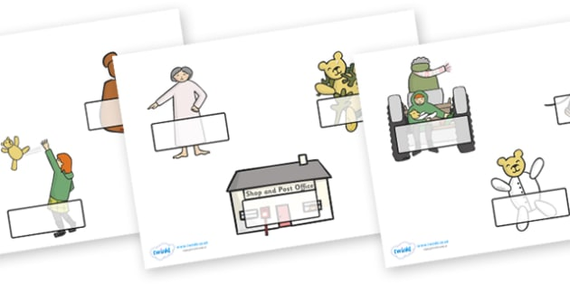 Editable Self Registration Labels to Support Teaching on Katie Morag and the Tiresome Ted - Self registration, register, Mairi Hedderwick, story, scotland, book, resources,, editable, labels, registration, child name label, printable labels,  book, s