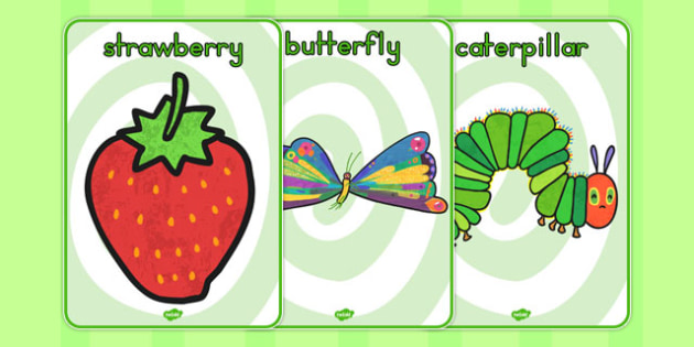 Display Posters to Support Teaching on The Very Hungry Caterpillar - australia, hungry, caterpillar
