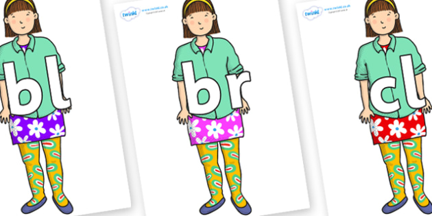Initial Letter Blends on Sam to Support Teaching on Harry and the Bucketful of Dinosaurs - Initial Letters, initial letter, letter blend, letter blends, consonant, consonants, digraph, trigraph, literacy, alphabet, letters, foundation stage literacy