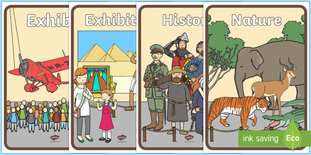 Museum Role Play Posters - museum, role play, museum role play, role play posters, posters, posters for role play, museum role play, display posters