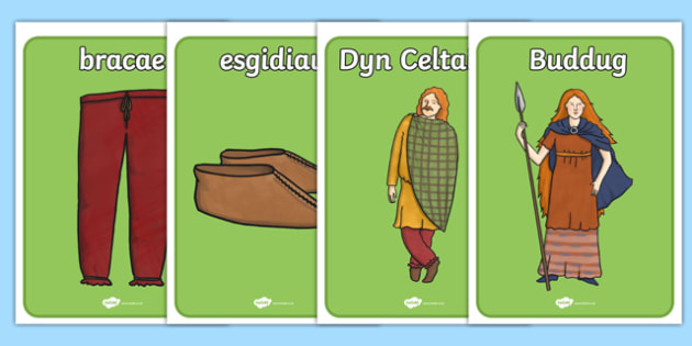 The Celts Iron Age Display Posters Welsh - welsh, the celts, iron age, display posters, display, posters