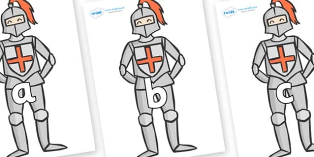 Phase 2 Phonemes on Knights - Phonemes, phoneme, Phase 2, Phase two, Foundation, Literacy, Letters and Sounds, DfES, display