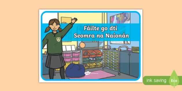 Fáilte go dtí Seomra na Naíonán