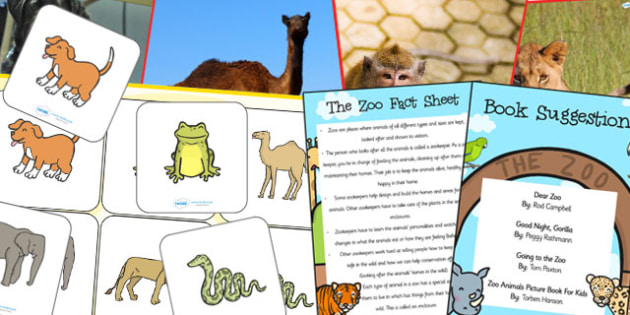 EYFS The Zoo Discovery Sack - EYFS, zoo, animals, discovery, sack