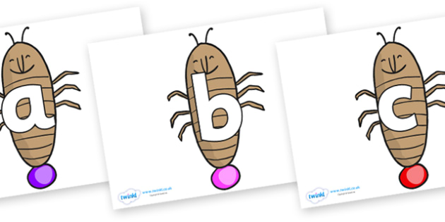 Phoneme Set on Glowworm to Support Teaching on James and the Giant Peach - Phoneme set, phonemes, phoneme, Letters and Sounds, DfES, display, Phase 1, Phase 2, Phase 3, Phase 5, Foundation, Literacy
