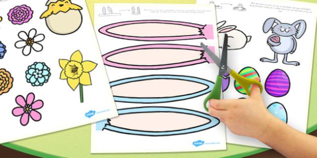 Afrikaans Make an Easter Bonnet Craft Activity Accessories - afrikaans, easter