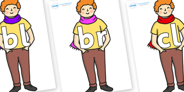 Initial Letter Blends on Enormous Turnip Boy - Initial Letters, initial letter, letter blend, letter blends, consonant, consonants, digraph, trigraph, literacy, alphabet, letters, foundation stage literacy