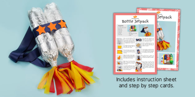 Superhero Jetpack Craft Instructions - superhero, jet pack