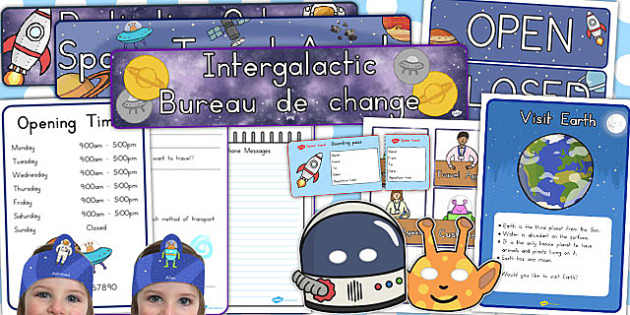 Space Travel Agents Role Play Pack - australia, space, role-play