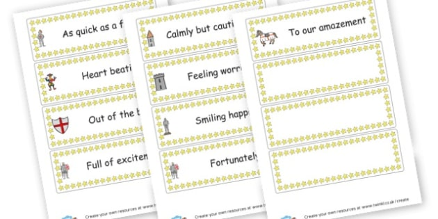 Spectacular Sentence Starters Cards - KS2 Writing Aids, Writing, English, Literacy, Writing, KS2 English