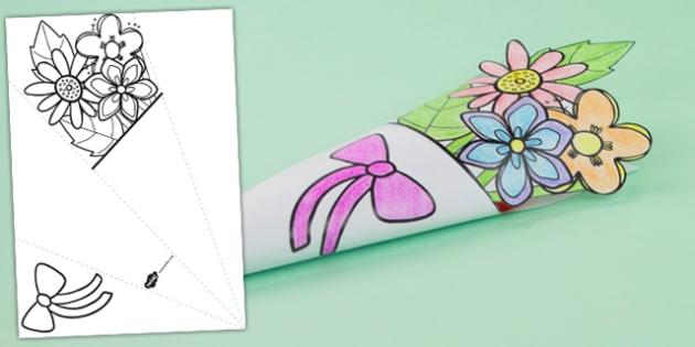 Mother's Day Paper Flower Bouquet - australia, mother, flower
