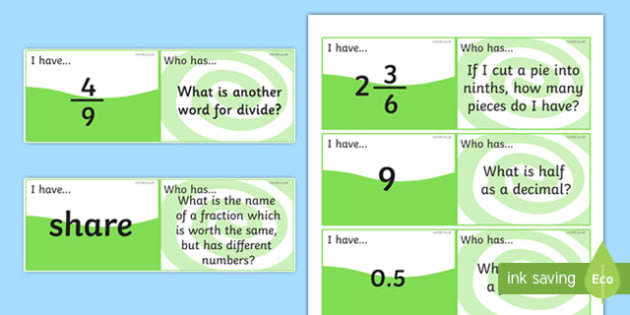 Fractions and Decimals Loop Cards - fractions, decimals, fractions loop cards, decimals loop cards, maths games, fraction and decimal games, ks2 maths game