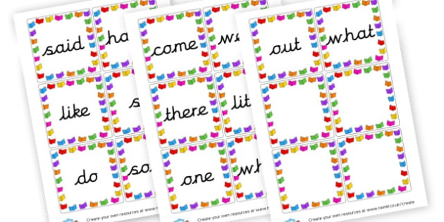 Phase 4 Tricky Words Cards - Phase 4 Visual Aids Primary Resources, Phase One, Letters, sounds