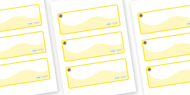 Sunflower Themed Editable Drawer-Peg-Name Labels (Colourful) - Themed Classroom Label Templates, Resource Labels, Name Labels, Editable Labels, Drawer Labels, Coat Peg Labels, Peg Label, KS1 Labels, Foundation Labels, Foundation Stage Labels, Teachin