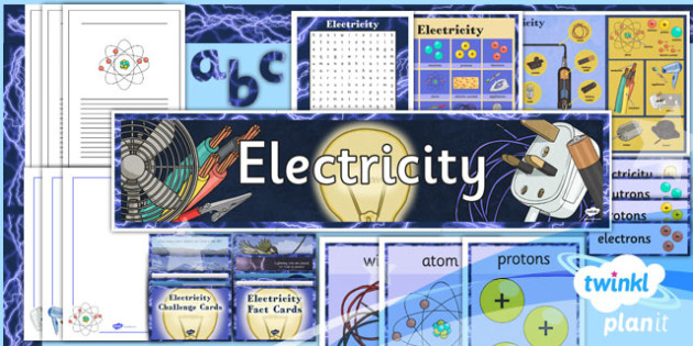 PlanIt - Science Year 4 - Electricity Additional Resources - planit, science, year 4, electricity