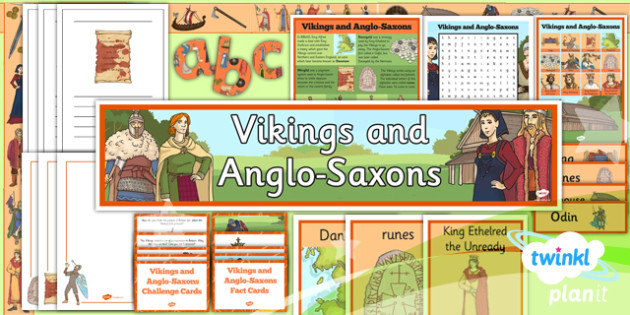 PlanIt History LKS2 Vikings Anglo-Saxons Unit Additional Resources