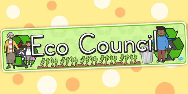 Eco Council Display Banner - displays, banners, eco, council