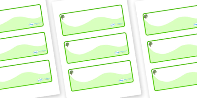 Sycamore Themed Editable Drawer-Peg-Name Labels (Colourful) - Themed Classroom Label Templates, Resource Labels, Name Labels, Editable Labels, Drawer Labels, Coat Peg Labels, Peg Label, KS1 Labels, Foundation Labels, Foundation Stage Labels, Teaching