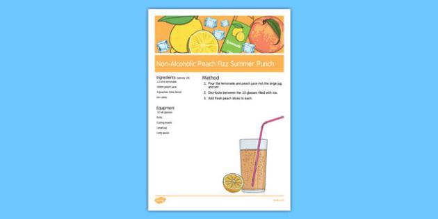 Elderly Care Summer Non-Alcoholic Drink Recipe - Elderly, Reminiscence, Care Homes, Summer