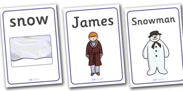 Display Posters to Support Teaching on The Snowman - display, posters, A4 posters, poster, the snowman, the snowman poster, childrens story, story book, snowman story, classroom display posters