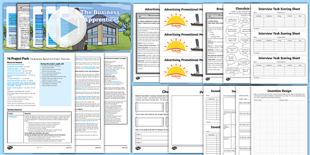 The Business Apprentice Resource Pack