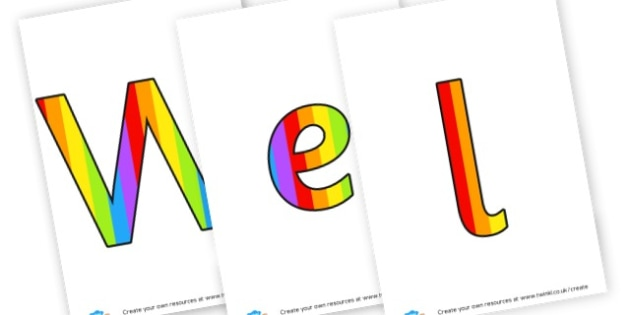 Welcome banner - display lettering - Classroom Welcome Signs Primary Resources, classroom, labels