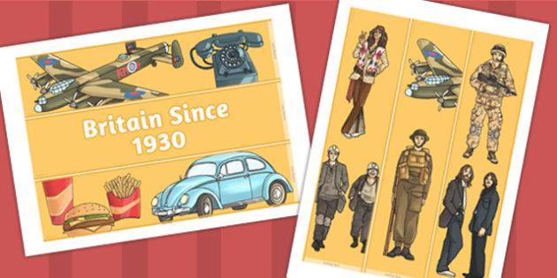 Britain Since 1930 Display Borders - display, borders, 1930