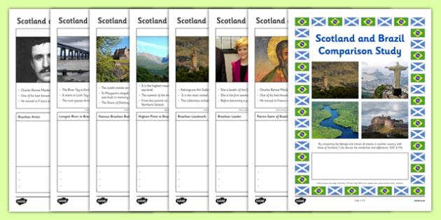 Scotland and Brazil Comparison Study Research Booklet - Comparison study, Brazil, Scotland, Olympics, research booklet, SOC 2-19a