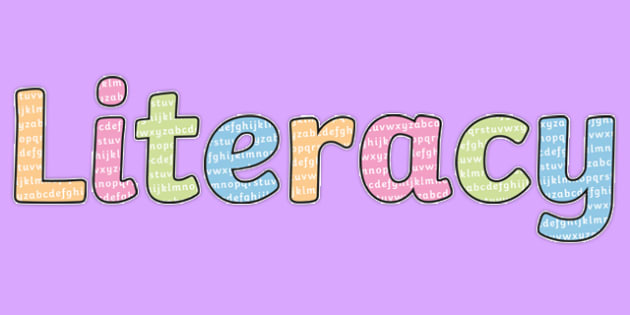 Letters Literacy Title Display Lettering - letters, display lettering, display, lettering, alphabet