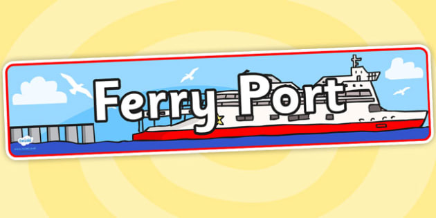 Ferry Port Role Play Banner-ferry port, role play, ferry port role play, role play banner, banner, ferry port banner, banner for role play