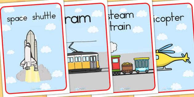 Transport Display Posters - transport, transport display, posters