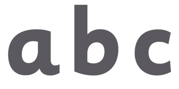 Display Lettering & Symbols (Grey) - Display lettering, display letters, alphabet display, letters to cut out, letters for displays, coloured letters, coloured display, coloured alphabet