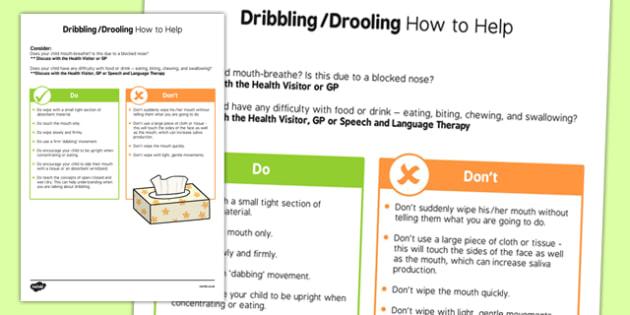 Dribbling Strategy Sheet