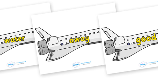 Next 200 Common Words on Space Shuttles - Next 200 Common Words on  - DfES Letters and Sounds, Letters and Sounds, Letters and sounds words, Common words, 200 common words