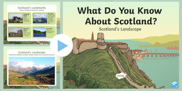 All About Scotland's Landscape PowerPoint CfE