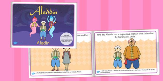 Aladdin eBookk Romanian Translation - traditional tales, story