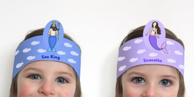 The Little Mermaid Role Play Headband - roleplay, props, stories