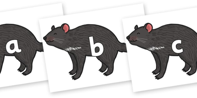 Phase 2 Phonemes on Tasmanian Devil - Phonemes, phoneme, Phase 2, Phase two, Foundation, Literacy, Letters and Sounds, DfES, display