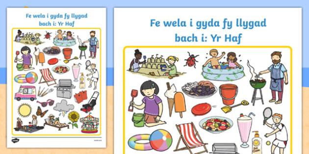 Fe wela i gyda fy llygad bach i: Yr Haf Cymraeg - welsh, cymraeg, games, game