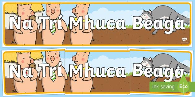 Na Trí Mhuc Beaga Display Banner