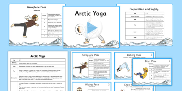Arctic Yoga Story PowerPoint Pack - yoga story, yoga, story, powerpoint, pack, arctic