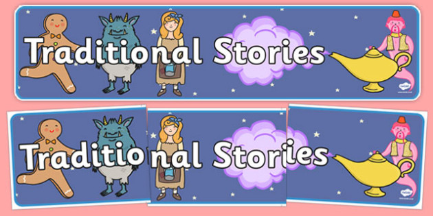 Traditional Stories Display Banner - traditional stories, display banner, display, banner, traditional, stories