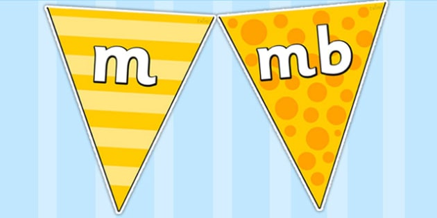 m Sound Family Display Bunting - m sound, display bunting, m family display bunting, m sound display bunting, sound bunting, bunting