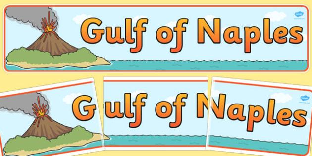 Gulf of Naples Display Banner - display, banner, gulf, naples