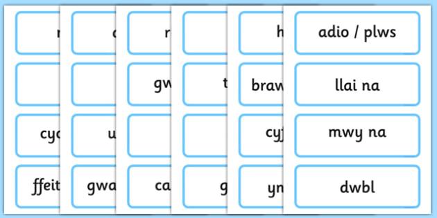 Maths KS1 Welsh - maths, ks1, welsh, wales, language, word cards, word, cards