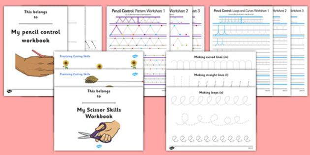 KS2 Fine Motor Skills Resource Pack - ks2, fine motor skills, pack, resource pack