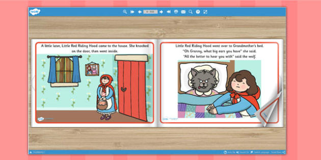 Little Red Riding Hood eBook - books, interactive books, read