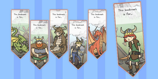How to Train Your Dragon Bookmarks - australia, dragon, train