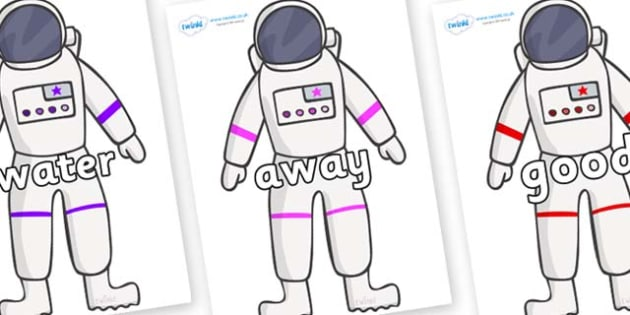 Next 200 Common Words on Astronaut - Next 200 Common Words on  - DfES Letters and Sounds, Letters and Sounds, Letters and sounds words, Common words, 200 common words